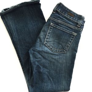 KUT from the Kloth bootcut blue jeans